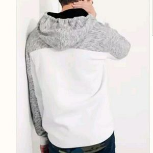 hollister quarter zip hoodie XS